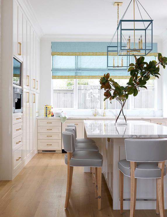Brass Counter Stools Design Ideas