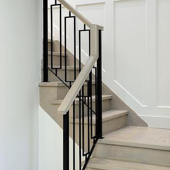 Beautiful Hollow Iron Staircase Balusters