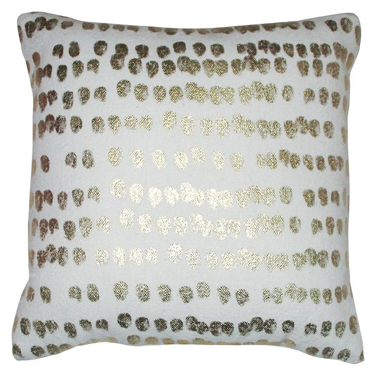 Jcpenney Gold Decorative Pillows : GOLD SCALLOP PILLOW I Caitlin Wilson Textiles