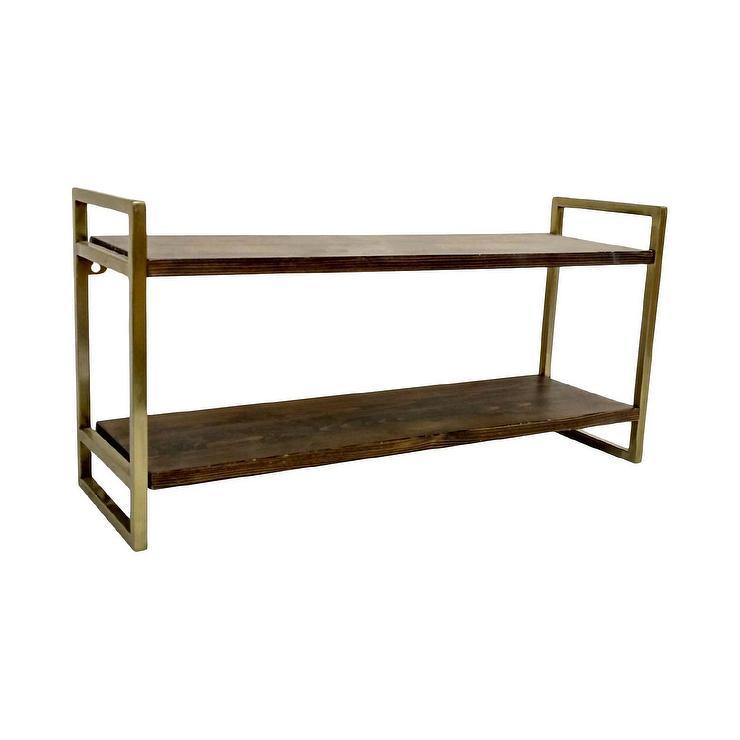 fef8e393154d6 Linden MidCentury Wide Shelf Unit