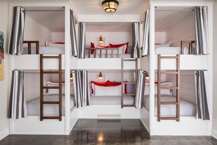 U Shaped Bunk Beds