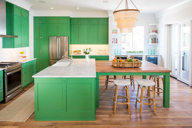 benjamin-moore-bunker-hill-green Painted Cabinets Kitchen Remodel Ideas on kitchen designs remodel, kitchen island remodel, traditional kitchen remodel, painted paneling remodel,