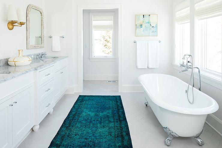 Long Bathroom Rugs. Splendor Bath Rug Runner 60 X 24 ...