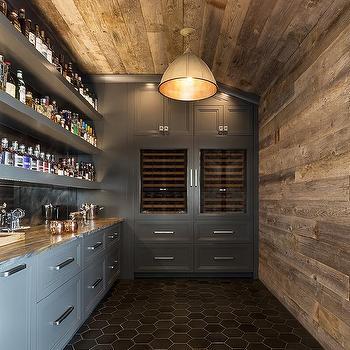 Wet Bar Design Contemporary Kitchen Pricey Pads