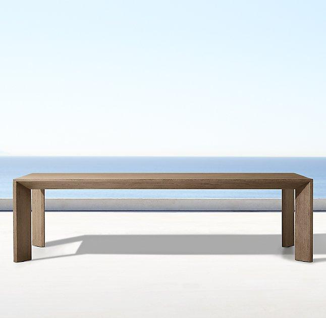 Arles Rectangular Outdoor Teak Dining Table