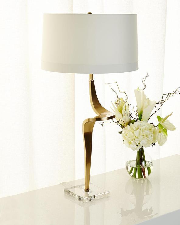 Arteriors roosevelt gold twist table lamp aloadofball Images