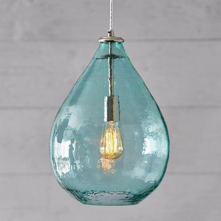 info pendant blue lights outstanding regard grapevine to with project modern mini uk light glass