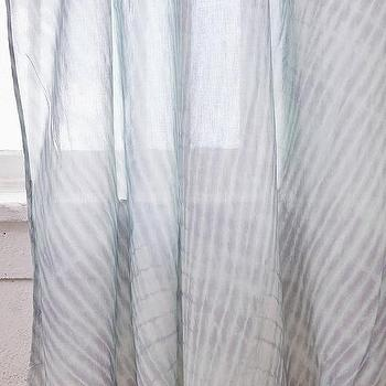 platte dip dye gray ombre window curtain
