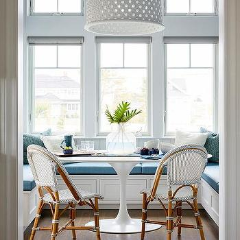 High Ceiling Breakfast Nook Design Ideas