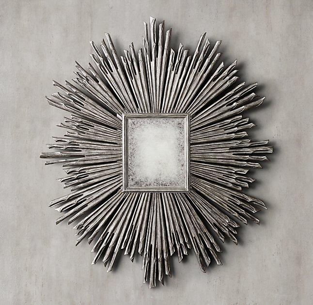 Vern Yip Home Handcarved Sunburst Mirror At Hsn Com