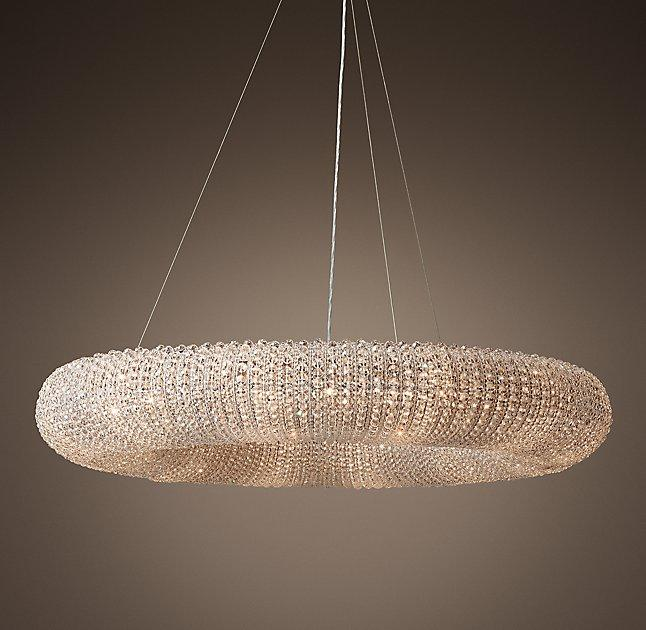 Crystal Chandelier Halo: Harlow Clear Crystal Chandelier