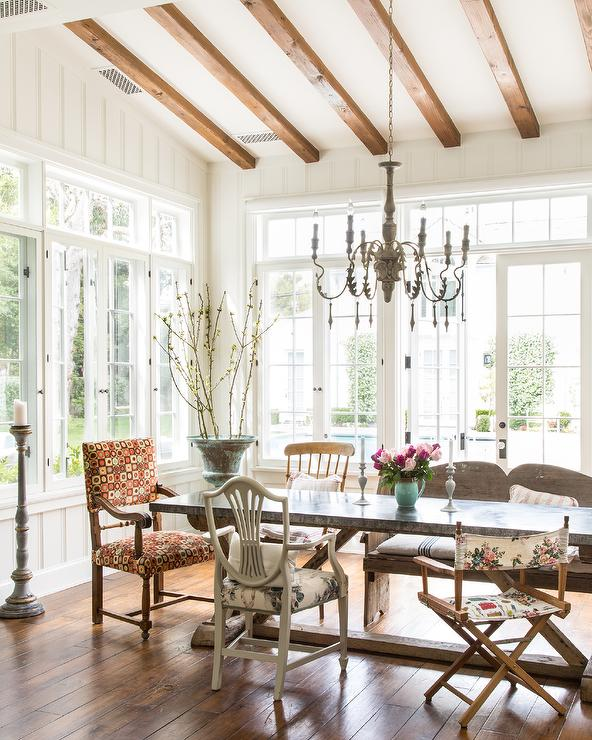 Dining Room Ceilings: Interior Design Inspiration Photos By Giannetti Home
