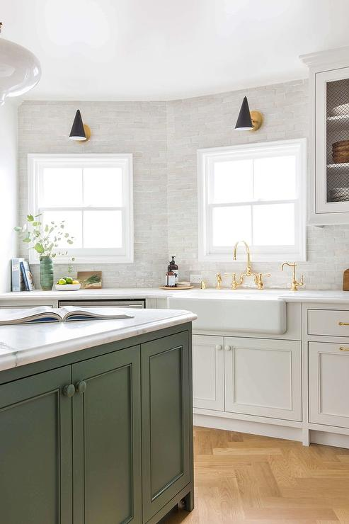 angled kitchen with farmhouse sink angled kitchen with farmhouse sink   transitional   kitchen  rh   decorpad com