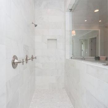 Long Shower Window Design Ideas