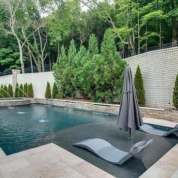 Shore Entrance Pool Design Ideas