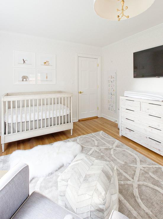 TV Over Nursery Changing Table