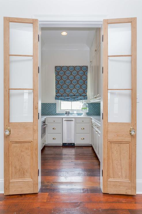 Glass Bifold Pantry Doors Design Ideas
