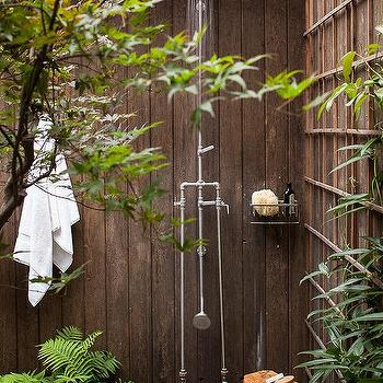 Whimsical Outdoor Shower Design Ideas