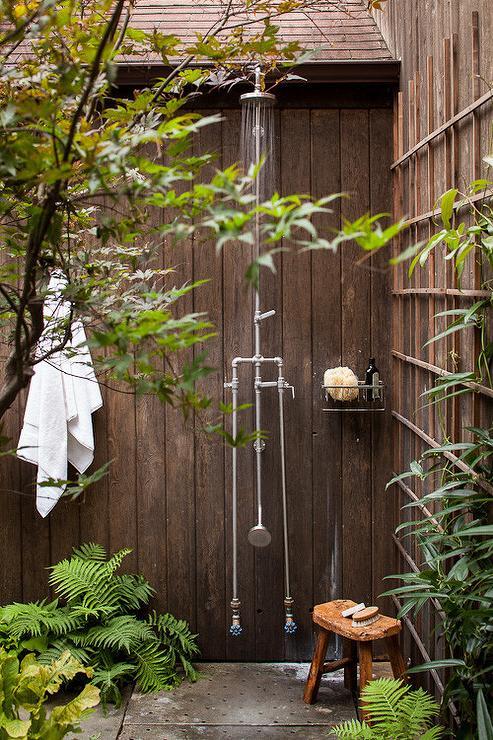 Outdoor Shower Caddy