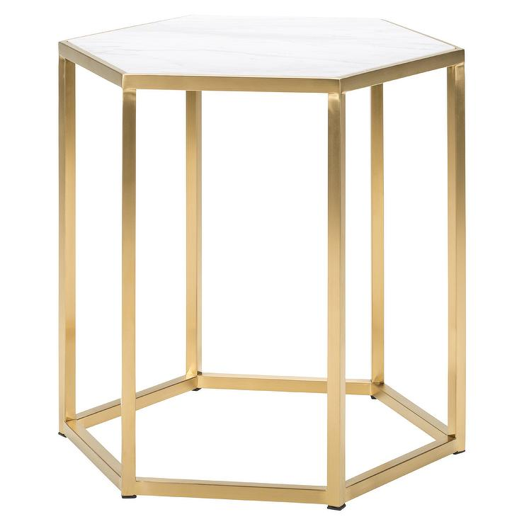 Modern white end table cheap evony end table with modern for Cheap modern end tables