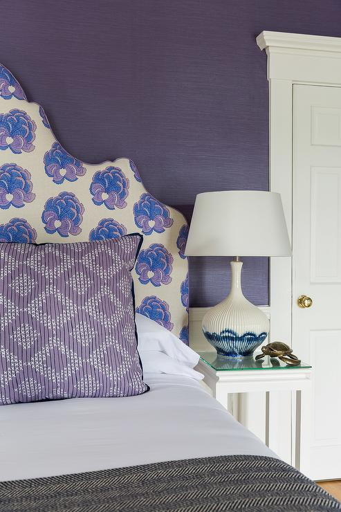 Dark Purple Bedroom