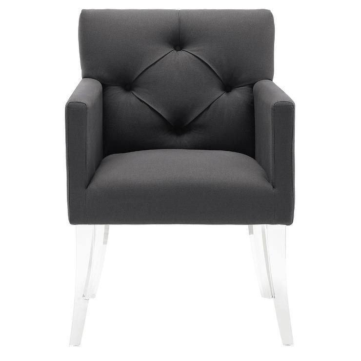 Global Views Katherine Clear Acrylic Chairs