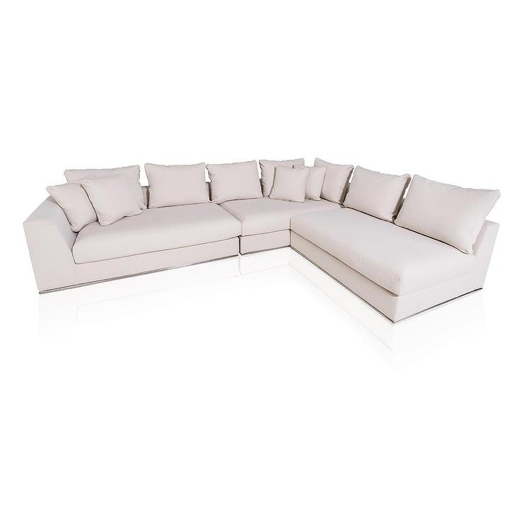 fabric sofa ch america set contemporary furniture couch stanford ii sectional ivory of