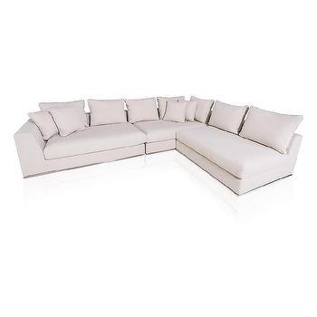 Contemporary Cream Living Room