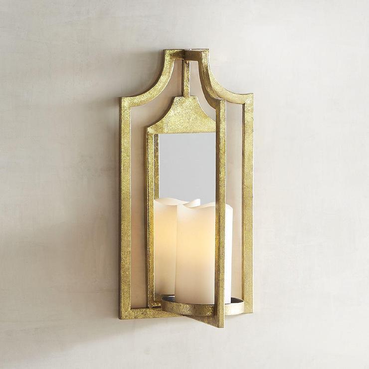 Brass Gold Wall Light
