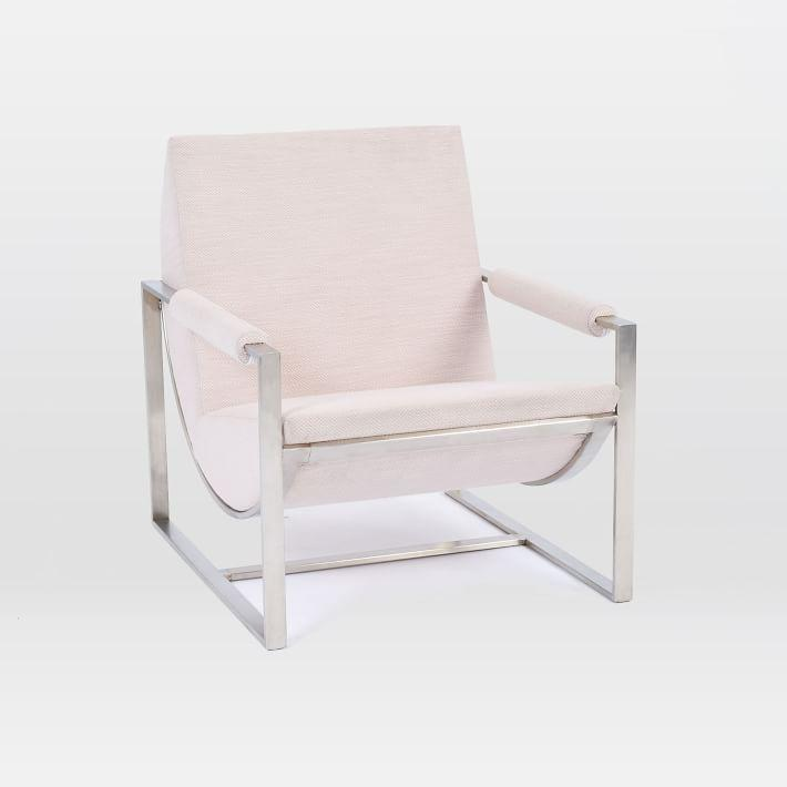 Bower Blush Circular Lounge Chair