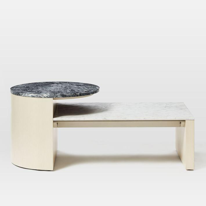 Rectangular Marble Coffee Table Home
