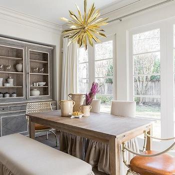 Admirable Ivory Ruffled Dining Room Slipper Chairs Design Ideas Spiritservingveterans Wood Chair Design Ideas Spiritservingveteransorg