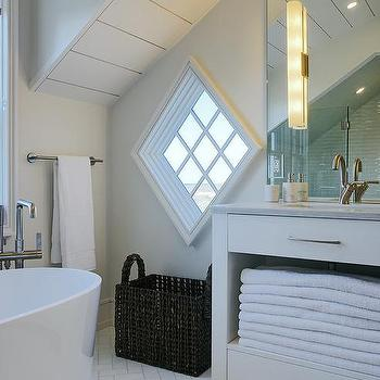 Cottage Attic Bathroom Cottage Bathroom Bhg