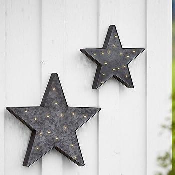 Lit Metal Stars Decor Products Bookmarks Design Inspiration And - Lit metal design