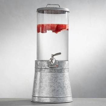 Acrylic Drink Dispenser Pottery Barn