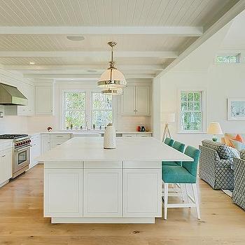 Linen White Kitchen Cabinets Design Ideas