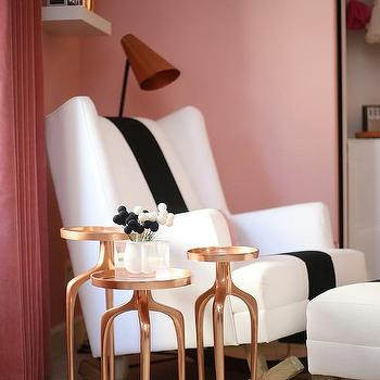 Gold and Pink Nursery Colors - Contemporary - Nursery