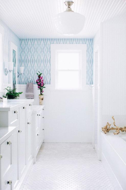 Beadboard Bathroom Cottage Bathroom Molly Frey Design