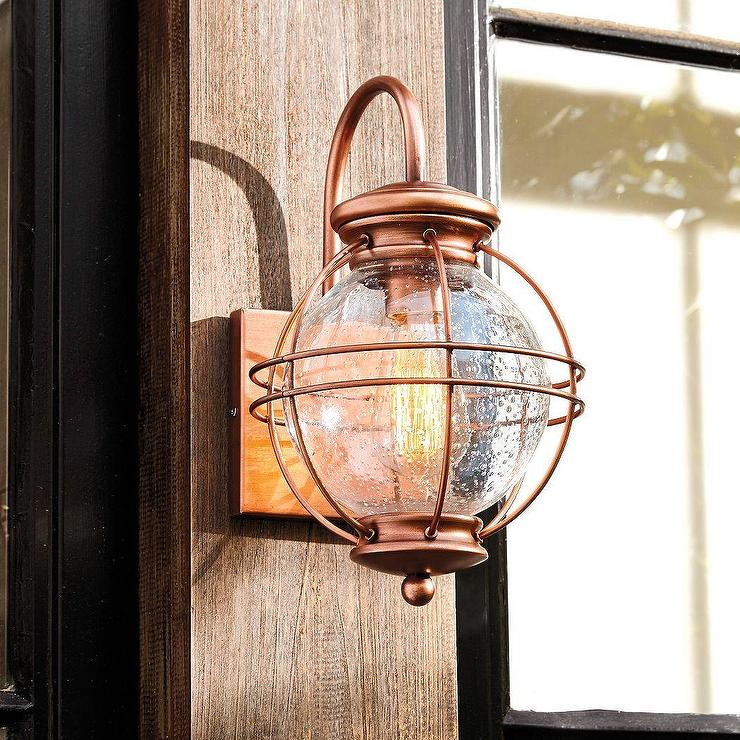 Copper Ethan Wall Sconce