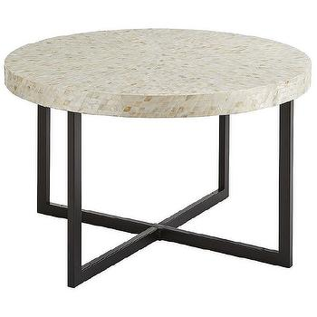 West Elm Low Bone Coffee Table Look for Less
