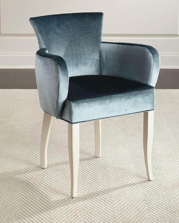 Swell Jamie Blue Velvet Accent Chair Alphanode Cool Chair Designs And Ideas Alphanodeonline