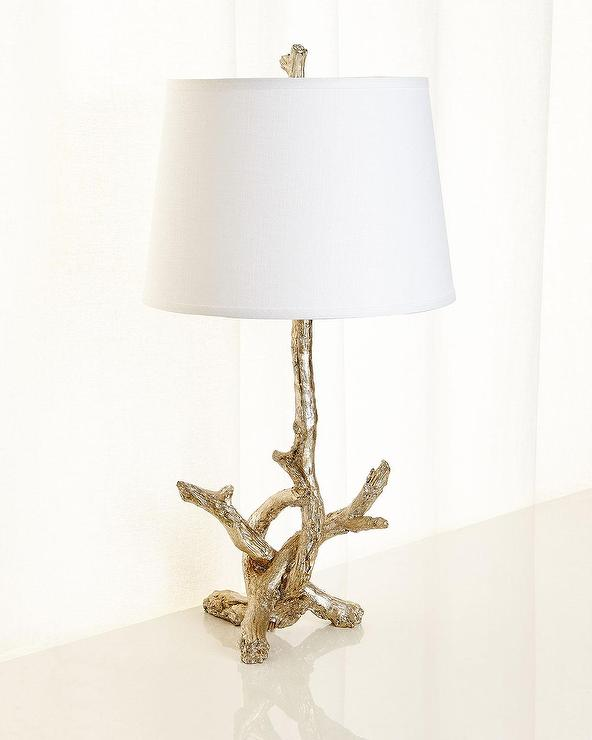 Frederick Cooper Sprig S Promise I Gold Table Lamp