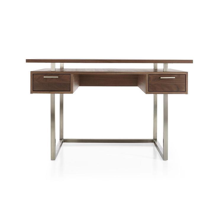 Minimalist Walnut Wood Modern Desk
