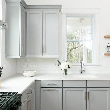 Dove Gray Kitchen Cabinets Design Ideas - Dove grey kitchen units