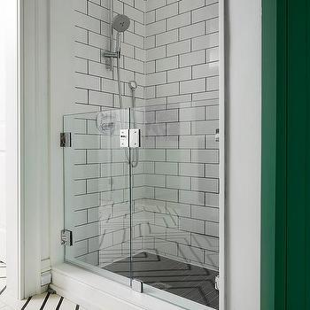 'Laundry Room Dog Shower' from the web at 'https://cdn.decorpad.com/photos/2017/06/14/m_short-glass-shower-door-laundry-room.jpg'