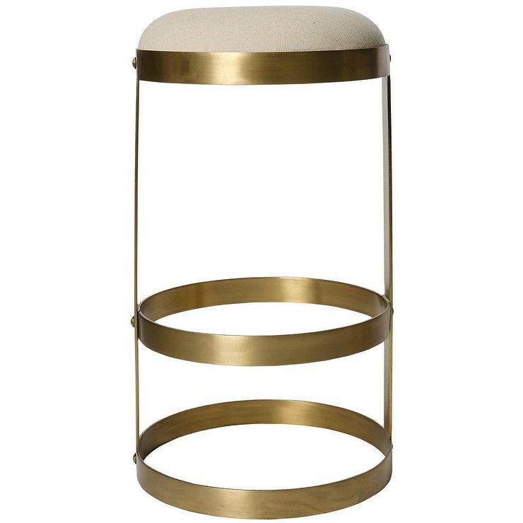 Arroyo Gold Bamboo Garden Stool