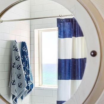 alyssa rosenheck white porthole bathroom mirror