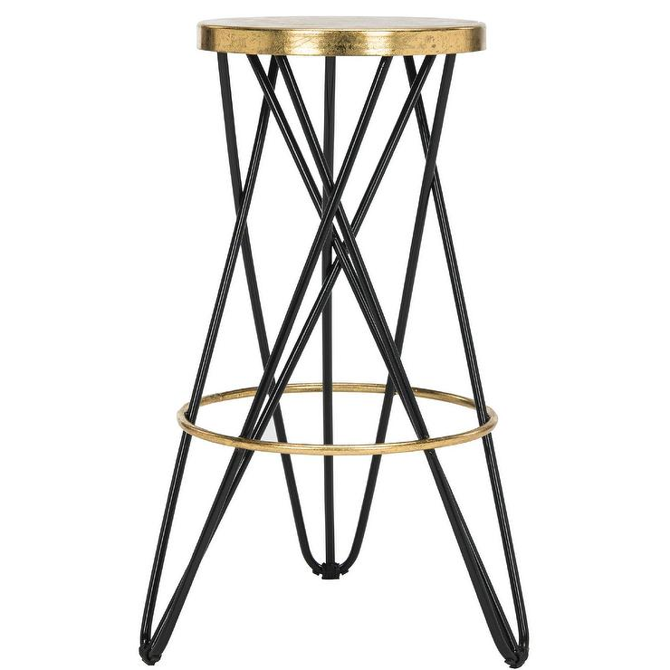 Admirable Amulet Round Hairpin Legs Bar Stool Pdpeps Interior Chair Design Pdpepsorg