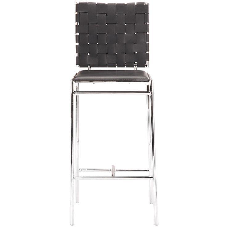 Miraculous Whitehall Black Woven Leather Bar Stool Creativecarmelina Interior Chair Design Creativecarmelinacom