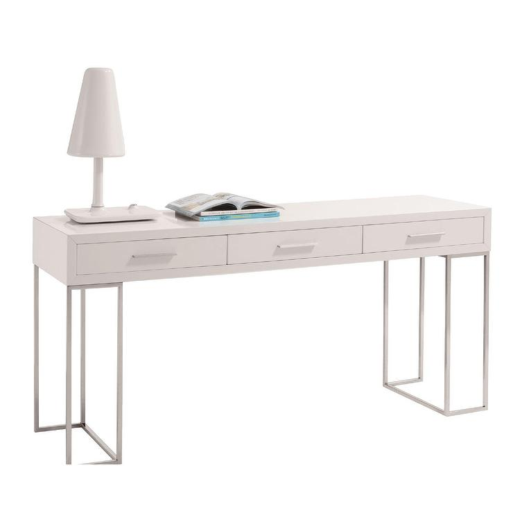 watkin melly white metal writing desk rh decorpad com white metal desk pen holder for a dollar white metal desk organizer